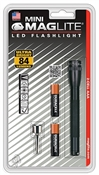 """Maglite, Black, 2 """"AAA"""", LED Mini Flashlight, 111 Lumens"""