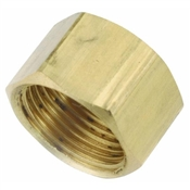 "1/4"" Brass Compression Cap"