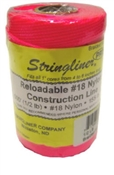 Stringliner #1/2 Braided Construction Line 500' Fluorescent Pink