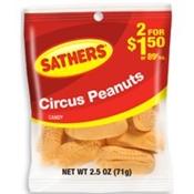 Circus Peanuts 2.5OZ