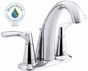 2 Handle Centerset Bathroom Faucet, Chrome