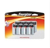 Energizer Alkaline Battery, 1.5 V, C, Zinc Manganese Dioxide