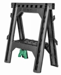 "28"" Heavy Duty Plastic Foldable Sawhorse 2PK"