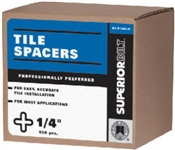 "1/4"" Tile Spacers 550 Pack"