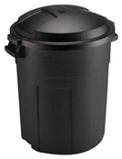 20 Gallon Plastic Trash Can