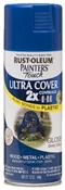 2X Painter's Touch Spray Paint Gloss Deep Blue