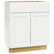 "Hamilton White 30"" Modular Vanity Sink Base"