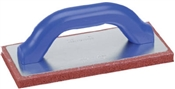 "9"" x 4"" x 5/8"" Fine Cell Red Rubber Flat"