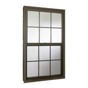 2830 6/6 Bronze Single Hung Window Insulated Low-E Glass 300