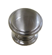 "1-1/4"" Estate Knob - Satin Nickel"