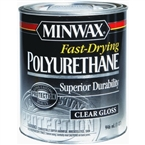 Fast Dry Gloss Polyurethane Floor Finish, 1 Quart