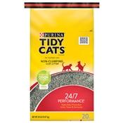 Tidy Cats 24/7 Performance Conventional Cat Litter, 20 Lb. Bag