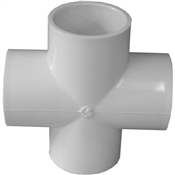 "1-1/2"" Cross Schedule 40 PVC"