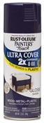 2X Painter's Touch Spray Paint Gloss Purple
