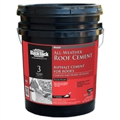 Premium All Weather Plastic Roof Cement - 4.75 Gal