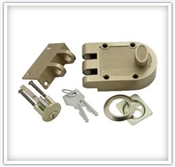 Single Cylinder Bolt Interlocking Deadbolt