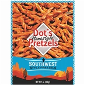 5oz Southwest Dot's Pretzels