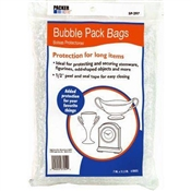 "6 Pack, 7.25"" x 11"", Small, Bubble Pack Bags."