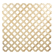 "5/8"" 4x8 Above Ground Treated Lattice Panel"