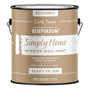 Simply Home Dark Taupe Interior Wall Paint