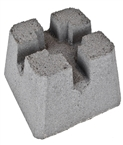 "Concrete Patio Pier Block, 12""x8""x12"""
