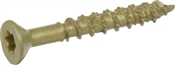 """Multi-Material Exterior Screw, #10 x 1-1/2"""", 15-Count pack"""