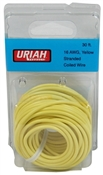 "30"" Yellow 16AWG Primary Wire"