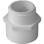 "1-1/4"" Male Adapter Schedule 40 PVC"