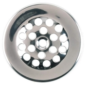 Bath Drain Strainer Dome Cover. Chrome