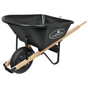 Landscapers Select Wb6Pmb Wheelbarrows, Poly Tray, 6 Cu Ft