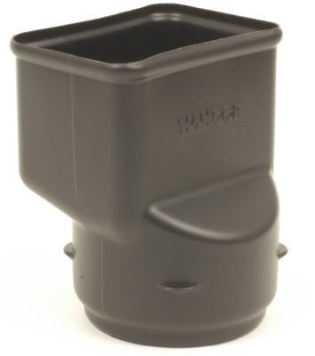 "4"" Corrugated 2x3 Downspout Adapter"