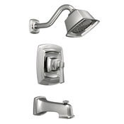 Boardwalk  Single Handle Tub & Shower Faucet Unit, Chrome