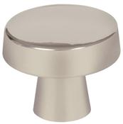 1-5/16 in (33 mm) Diameter Knob - Satin Nickel