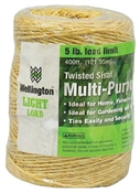 400' 1 Ply Natural Sisal Twine
