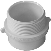 "1-1/2"" PVC-DWV Fitting Adapter (Spigot x MIP)"