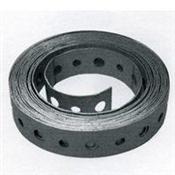 3/4X10', Galvanized Steel, 28GA Pipe Strap