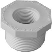 "1-1/4""x3/4"" Threaded Bushing Schedule 40 PVC"
