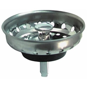 Replacement Fixed Post Stainless Steel Strainer Basket