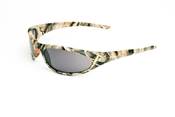 Camouflage Full Frame Sunglasses With Smoke Lens