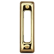 SL-711-02 BUTTON PUSH BRASS