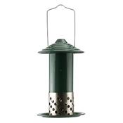 Woodlink, Green & Steel Mealworm Suet Balls & Peanut Combo Bird Feeder