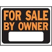 For Sale By Owner Plastic Sign