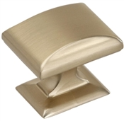 1-1/4 in (32 mm) Length Knob - Golden Champagne