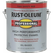 Professional High Performance Protective Enamel, Safety Red