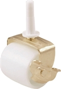 Shepherd Hardware 9536 Bed Roller, 2-1/8 in Dia Wheel, 125 lb, White