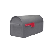 Pewter Sequoia Heavy Duty Post Mount Mailbox