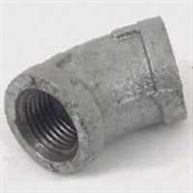 "1/4"" GALVANIZED 45DEG ELBOW"