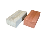 "2-1/4"" x 4"" x 8"" Utility Brick Gray"