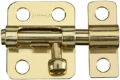 "2"" Window Barrel Bolt, Brass"
