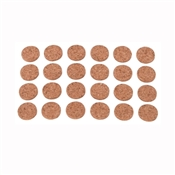 Prosource FE-50700-PS Furniture Pad, Wood, Brown